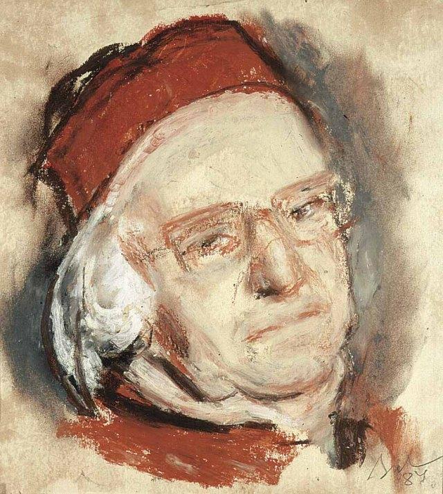 Corneliu Baba - Autoportret, 1984
